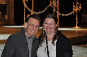 Children's Theatre Company Director Peter Brosius and Mary Aalgaard