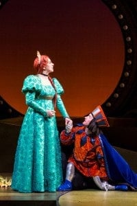 Autumn Ness as Fiona, Adam Qualls as Lord Farquaad, stunning and hilarious!