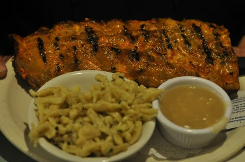 The Chef had Kaiserhoff's famous ribs, spaetzle, and chicken gravy.