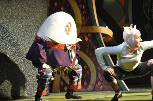 Noah Coon as Humpty Dumpty