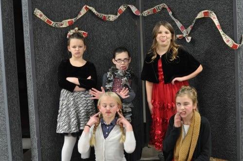 Middle Row: Thea, Emma, Peyton, Maggie, and Samina