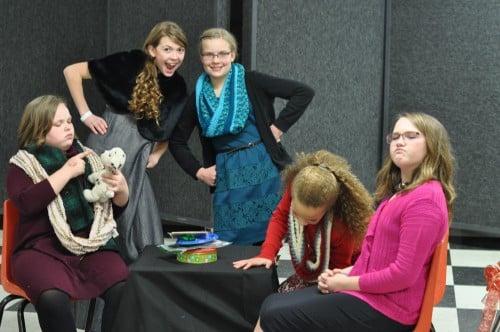 Top Row: Abbi, Gabriella, Callie, Gabi, and Allie