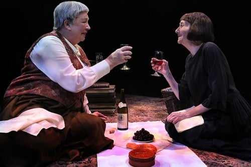 Gertrude Stein and a Companion at The Jungle Theater. Photo by Michal Daniel