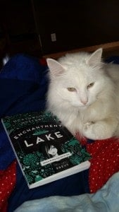 Leo loves cuddling up with a good book and a warm lap.