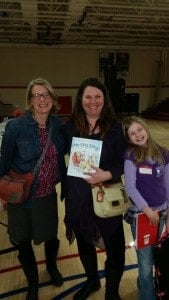 Mary Casanova, Mary Aalgaard, and a Young Author from our conference in Northern Minnesota