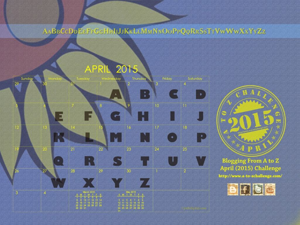 IWSG April 2015 A to Z Challenge