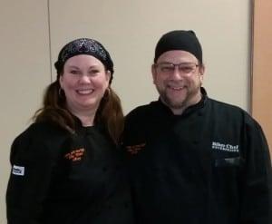 Mary Aalgaard and The Biker Chef