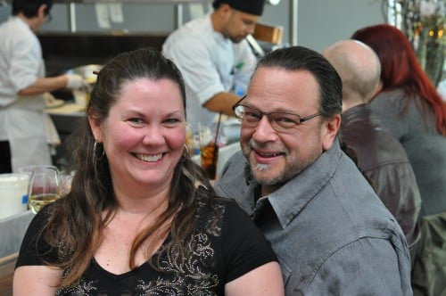 Mary and The Biker Chef at Spoon and Stable