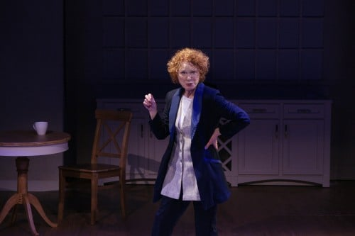 Linda Kelsey as Juliana Photo by Petronella J. Ytsma