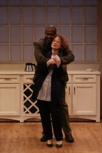 Linda Kelse as Juliana, James A. Williams as Ian. Photo by Petronella J. Ytsma