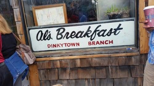 Al's Breakfast in Dinkytown, Minneapolis, Minnesota