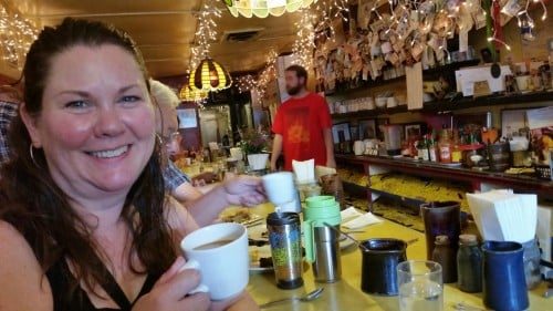 Mary Aalgaard at Al's Breakfast in Dinkytown