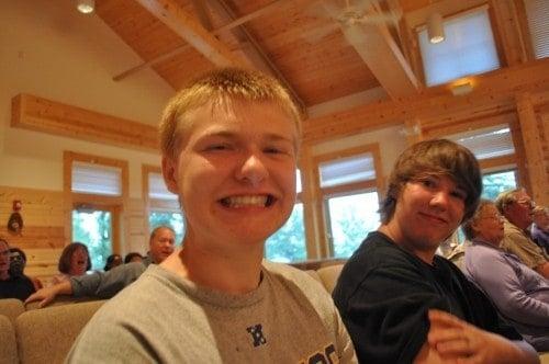 Zach and Bobby