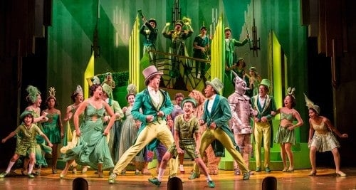 Children's Theatre Company cast of Wizard of Oz, 2015. Photo by Dan Norman
