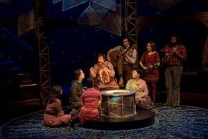 The cast of The Snow Queen at Park Square Theatre. Promo photo from Park Square Theatre