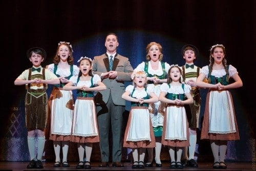 The von Trapp family. Photo by Rich Ryan Photography