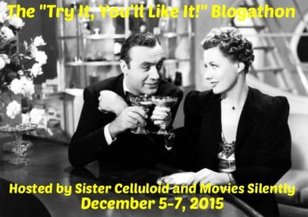 "The ""Try it, You'll like it"" Blogathon"
