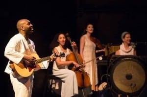 Cedric Lamar, Jennie Greenberry, Emily Serdahl and Darcy Danielson (musicians).