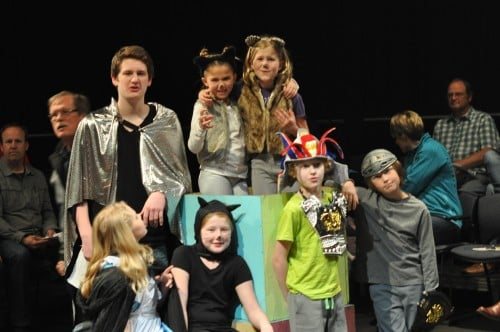 Jake's Group, the Rockstars, Play off the Page Theatre Workshop, Spring 2016