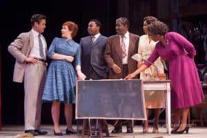 Al Manners (John Catron), Judy Sears (Chloe Armao), John Nevins (Marcel Spears), Sheldon Forrester (Cleavant Derricks), Millie Davis (Austene Van) and Wiletta Mayer (Margo Moorer).
