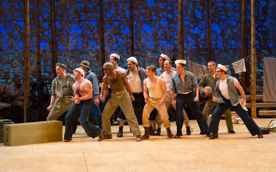 Male cast of South Pacific, playing through August 28, 2016 at The Guthrie Theater. Photo by T. Charles Erickson