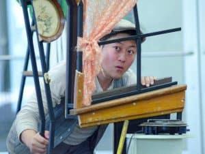 Kurt Kwan as Sharp in TTT's The Changelings.