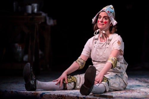 Elise Lnager as Pinocchio, at the Children's Theatre Company in Minneapolis, MN. Photo by Dan Norman