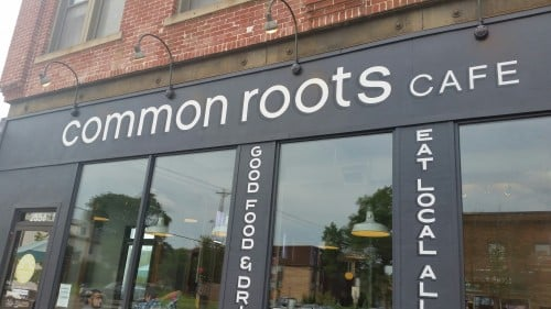 Common Roots Cafe, located at 2558 Lyndale Ave. S., Minneapolis, MN.