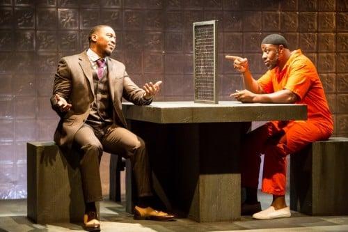 Darius Dotch as Eric and Ansa Ankyea as Bilal PHOTO CREDIT: Dan Norman