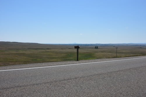 Scenes along HWY 85 from Dickinson, ND - Sturgis, SD
