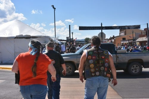 Heading out to explore what's new (or old) at the Sturgis Motorcycle Rally.
