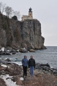 Split Rock Lighthouse, March 2016