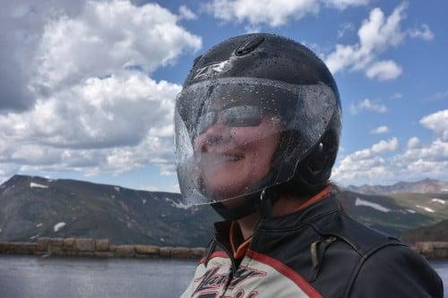 Lovin' my Z1R helmet!