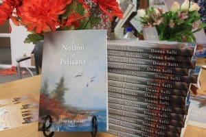 A Notion of Pelicans by Donna Salli, book launch. Photo courtesy Blue Cottage Agency