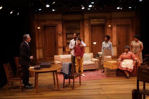 A Raisin in the Sun at Park Square Theatre in St. Paul, MN Photo by Petronella J. Ytsma
