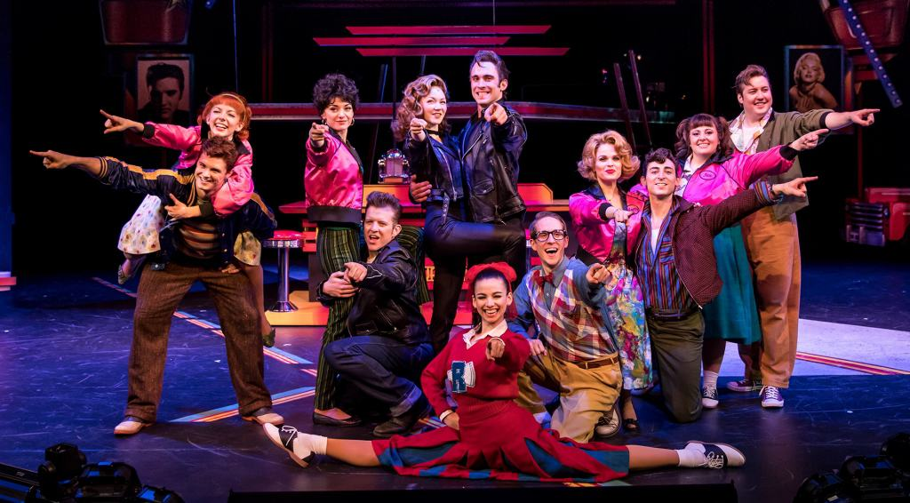 Review of Grease at the Chanhassen Dinner Theatres