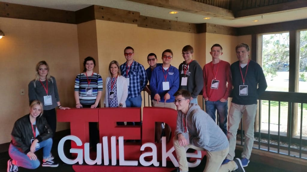 We Are the World Blogfest and TEDx Gull Lake, 2017