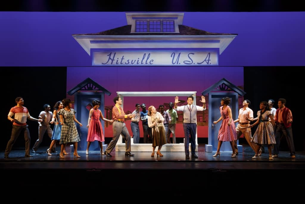 Review of Motown the Musical on tour at the Orpheum in Minneapolis, MN