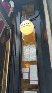 Prune Restaurant is French Country infused and all Gabrielle Hamilton