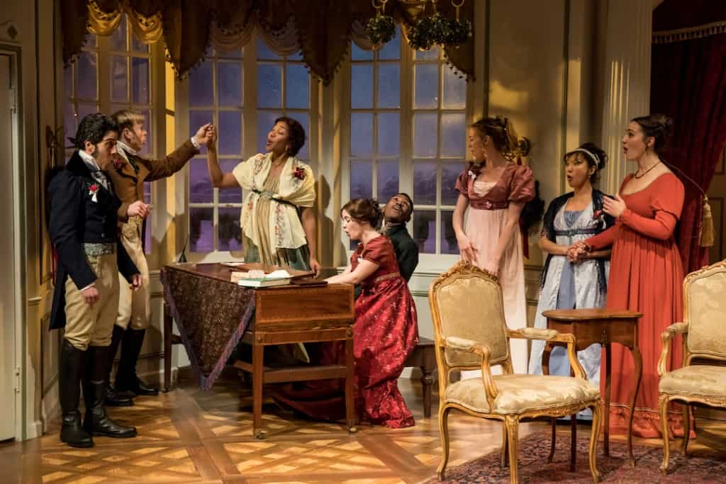 Review of Miss Bennet: Christmas at Pemberley at The Jungle Theater, 2017