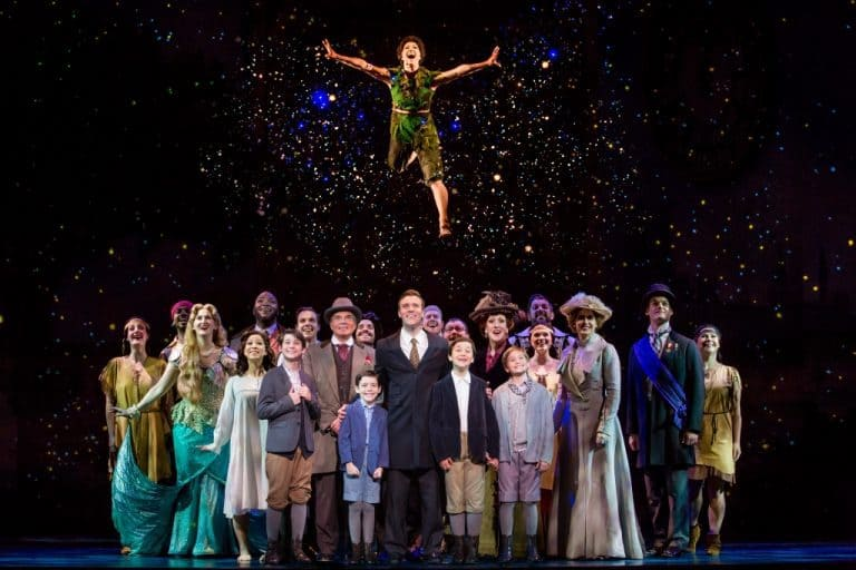 The Cast of Finding Neverland Photo Credit Jeremy Daniel
