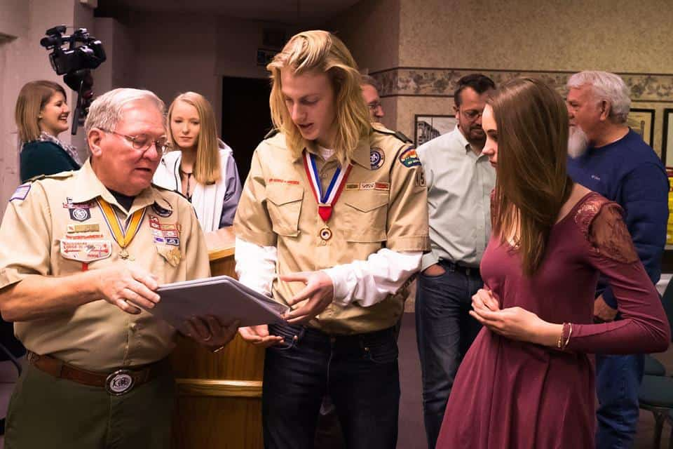 Ben Soukup, Eagle Scout Hero #WATWB January 2018