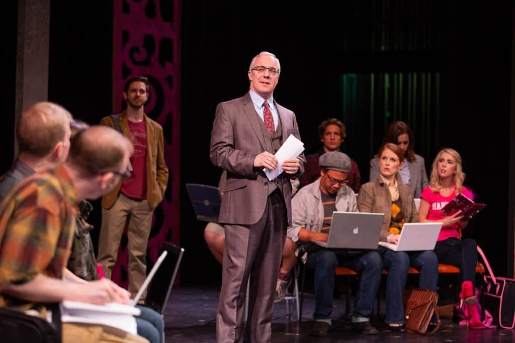 Paul R. Coate and the cast of Legally Blonde. Photos by Devon Cox
