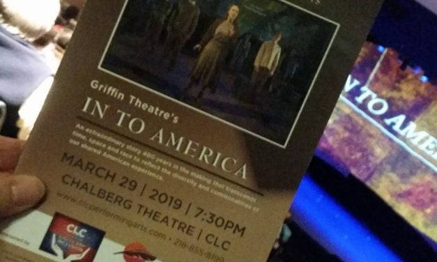 Reflections on In to America, Griffin Theatre Touring Show