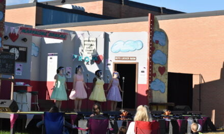 The Marvelous Wonderettes on the lawn BCT at CLC