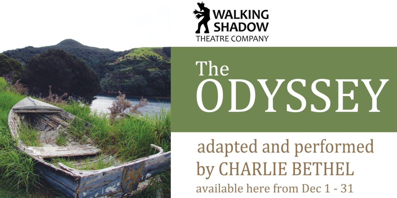 Review of The Odyssey, Charlie Bethel, Walking Shadow Theater